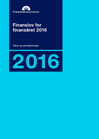 Finanslov for finansåret 2016