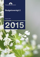 Budgetoversigt 2, august 2015
