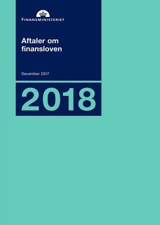 Aftaler om finansloven for 2018